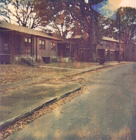 Apartment complex where Christina Boyer and Amber Bennett lived, early 1990s