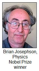 Physicist Brian Josephson