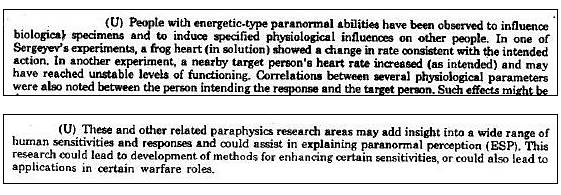 Paraphysics R & D — Warsaw Pact