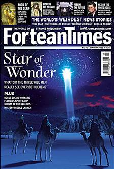 Fortean Times cover, issue 270, January 2011. Artist: Alex Tomlinson.