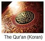 The Quran also spelled Koran