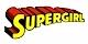 Supergirl name logo