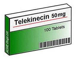 Telekineticin telekinesis drug pill box