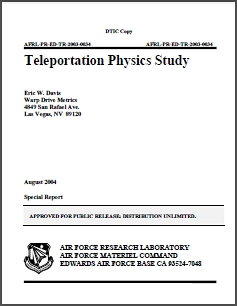 Teleportation Physics Study