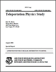 Teleportation Physics Study
