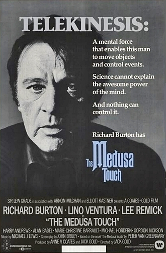 The Medusa Touch movie poster James A. Conrad